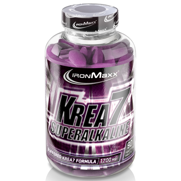 IRONMAXX KREA7 SUPERALKALIN, 90 tableta