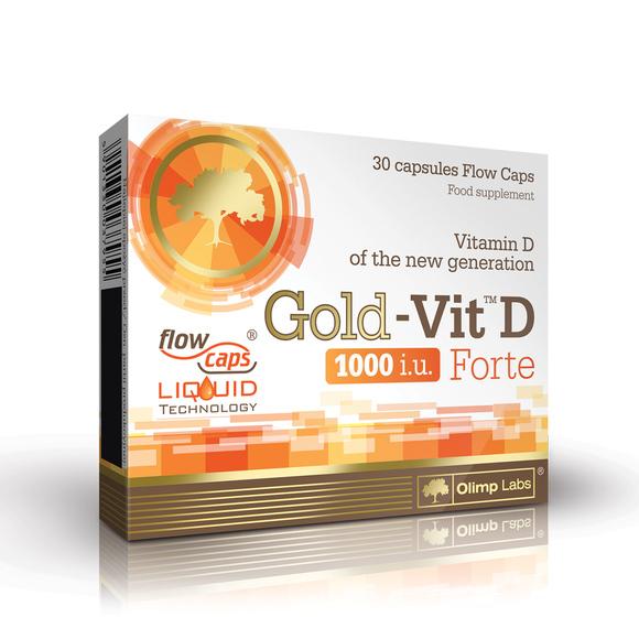 OLIMP GOLD-VIT D FORTE, 30 kapsula